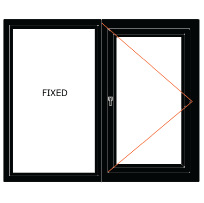 upvc-fixed-casement-window